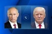 Трамп поздравил Путина с победой на выборах президента