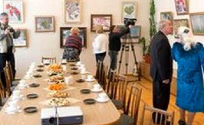 Открытие персональной выставки Л.Н.Лукина