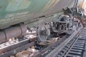 Четыре пустых вагона поезда сошли с рельсов в Приморском крае