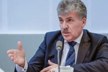 Кандидат в президенты России Павел Грудинин посетит Барнаул