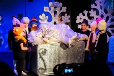 В театре кукол «Сказка» состоялся премьерный показ спектакля «Зимняя миниатюра»
