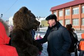 Сергей Дугин посетил барнаульские Масленичные гуляния